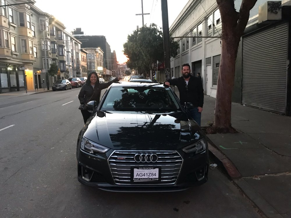 Audi San Francisco >> Our New Baby Thank You Audi Sf Yelp