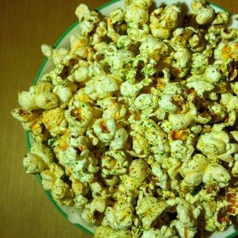 ... Yacht Club - San Francisco, CA, United States. Popcorn with Togarashi