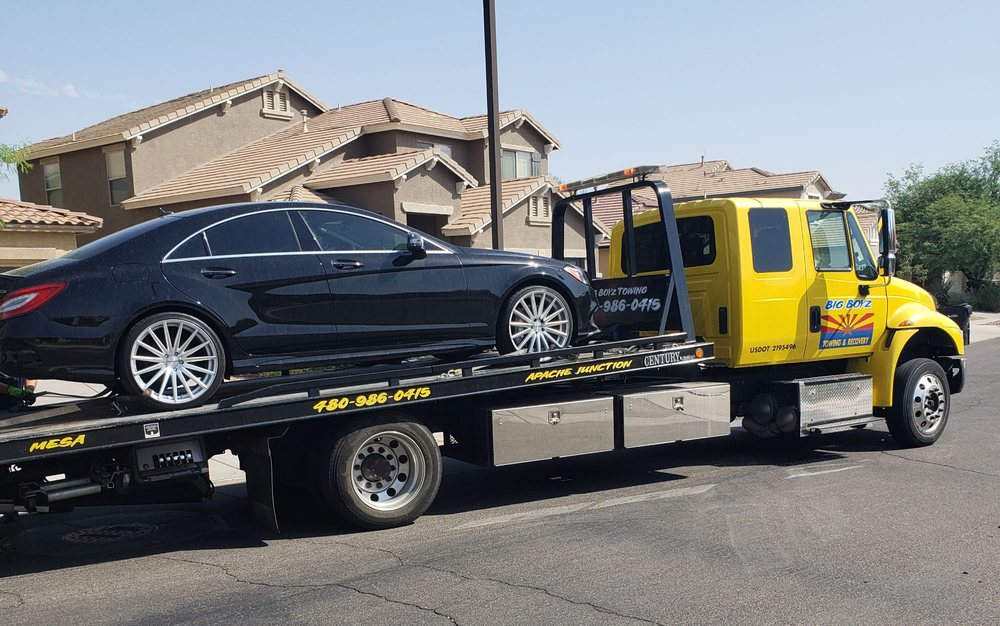 Big Boyz Towing: 1414 E 18th Ave, Apache Junction, AZ