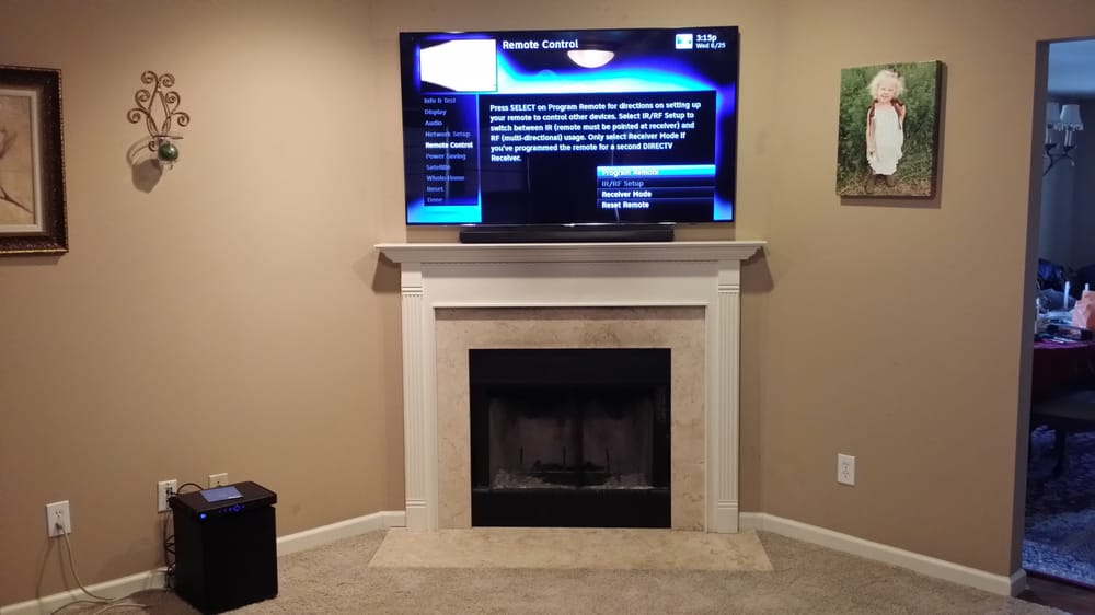 Photo Of On Wall Tv Install Alexandria Ky United States Over