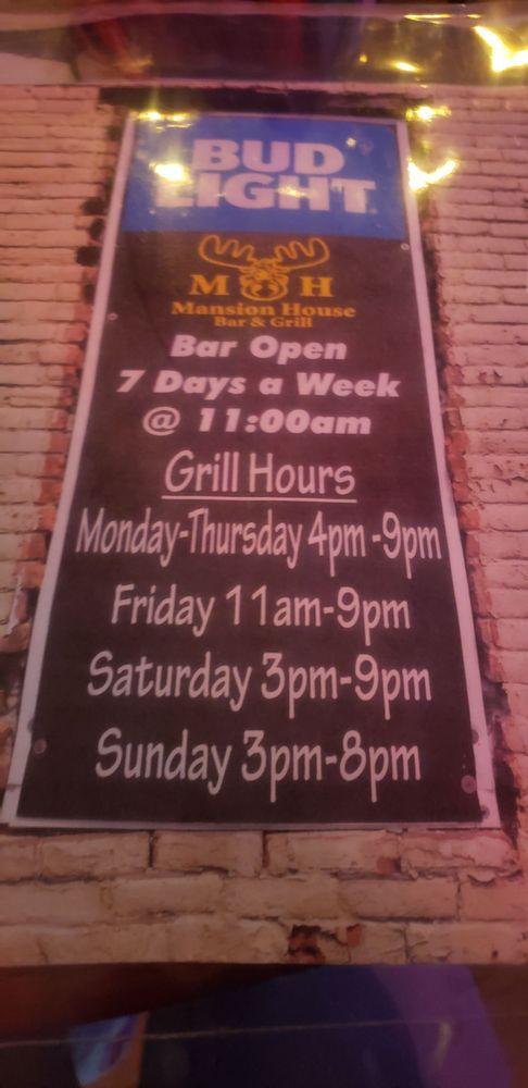Mansion House Bar & Grill: 201 Main St, Watsontown, PA