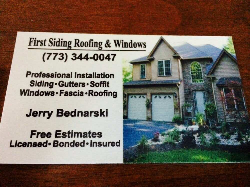 First Siding Roofing U0026 Windows   45 Reviews   Roofing   2845 N Harlem Ave,  Edison Park, Chicago, IL   Phone Number   Yelp