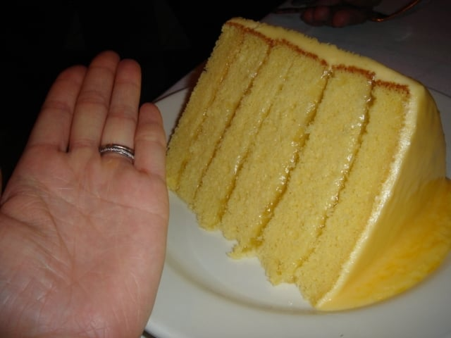Del Friscos Steakhouse Lemon Cake