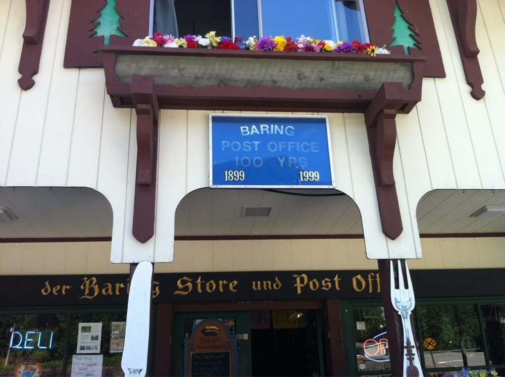 Baring Post Office: 19600 635th Ave NE, Baring, WA