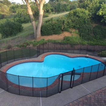Pool Fence baby barrier pool fence - 234 photos & 57 reviews - swimming pools