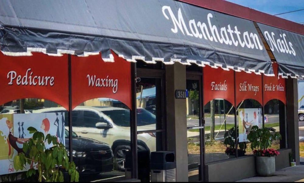 Manhattan Nails Salon: 3511 S Manhattan Ave, Tampa, FL