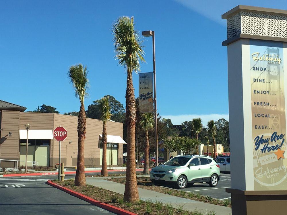 Sausalito's Gateway Shopping Center