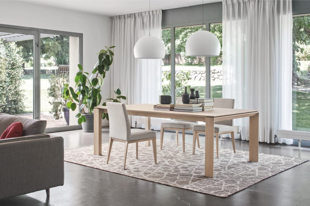 The Linear Omnia Dining Table Is A Self Contained Table