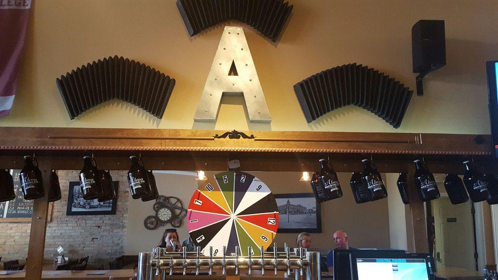 Alma Brewing Company: 208 E Superior St, Alma, MI