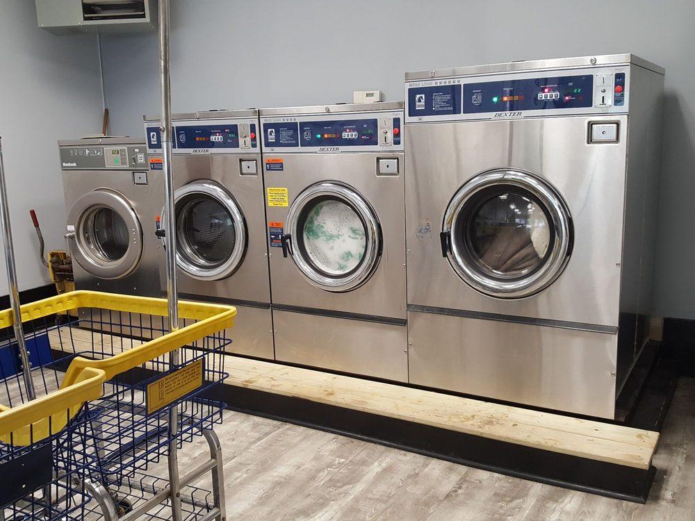 Rice's Laundromat: 40 Lower Main St, North Berwick, ME