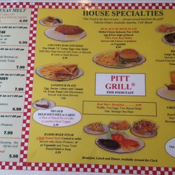 Pitt Grill Restaurant 13 Reviews American Traditional 501 W