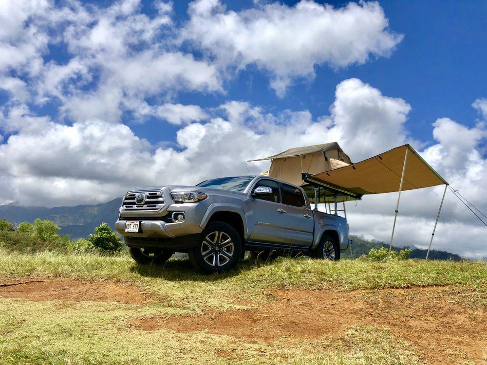 Kauai Rooftop Campers: 4523 Loane St, Anahola, HI