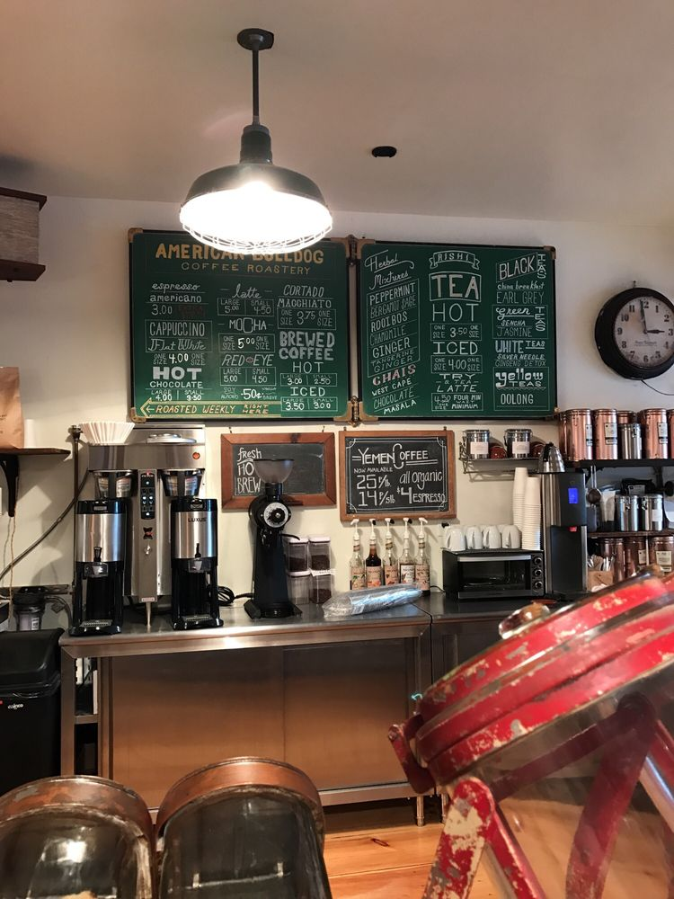 American Bulldog Coffee Roasters: 787 Chestnut Ridge Rd, Spring Valley, NY