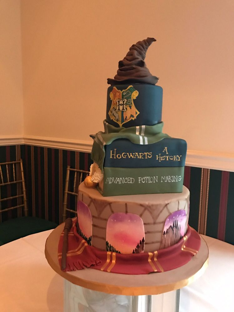 Sweet 16 Harry Potter Cake By Sweet Grace Cake Design Yelp