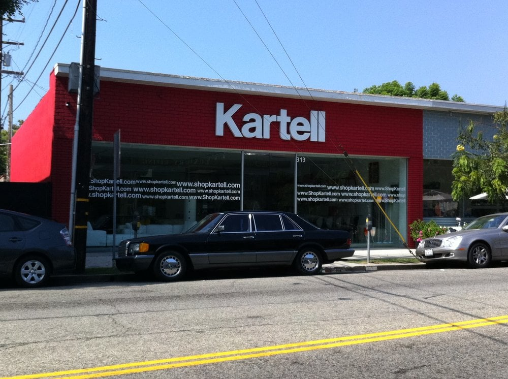 Kartell Furniture Stores 313 N Robertson Blvd Los Angeles CA Phone Nu