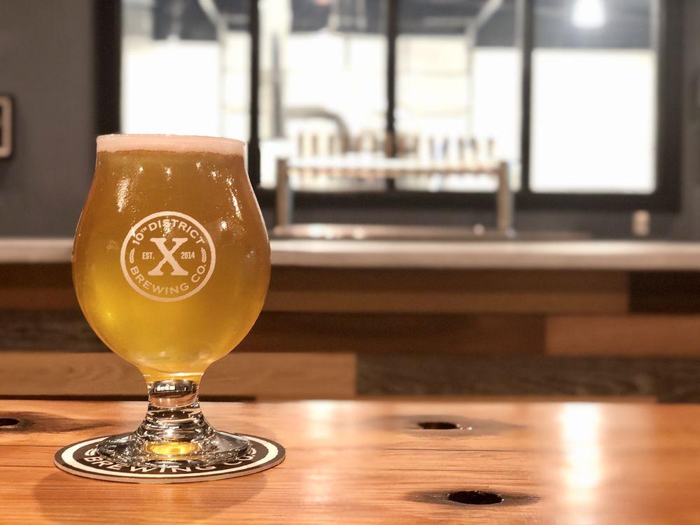 10th District Brewing Company: 748 Brockton Ave, Abington, MA
