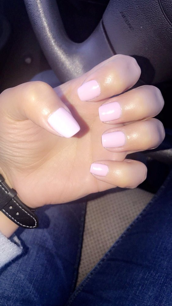 Love my nails! Took their time to make sure polish was smooth and ...