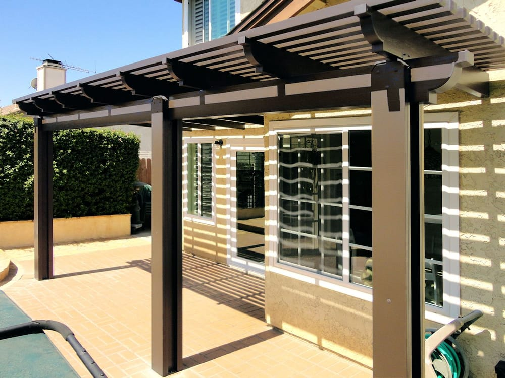 AlumaWood Patio Cover - Yelp