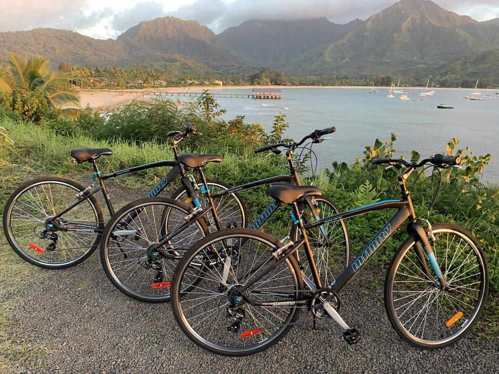 B 808 Hawaii Bike Rentals: Princeville, HI