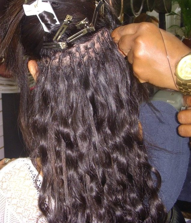 We Are Professional Hair Extensionist We Do Brazilian Knots