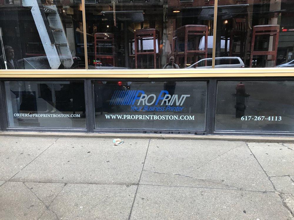Proprint - Boston: 133 South St, Boston, MA