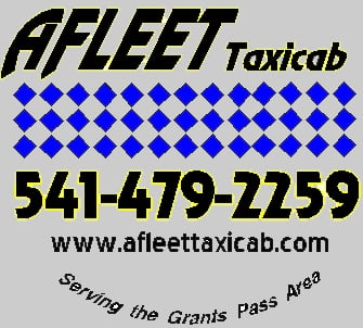 Afleet Taxicab: 106 NW F St, Grants Pass, OR