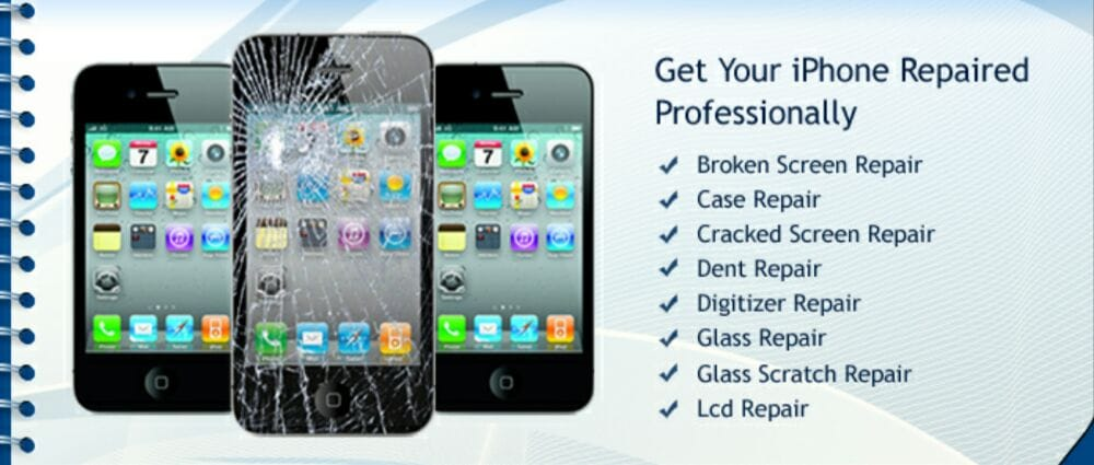 cheap mobile phone cracked screen repair