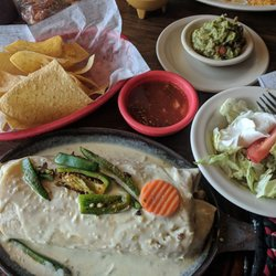 Photo Of Los Molcajetes Sandusky Oh United States Vegeterian Burrito With Salad