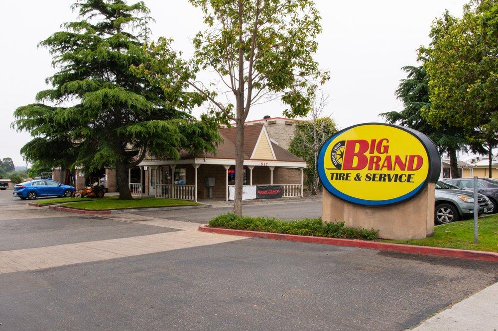 Big Brand Tire & Service - Arroyo Grande: 517 E Grand Ave, Arroyo Grande, CA