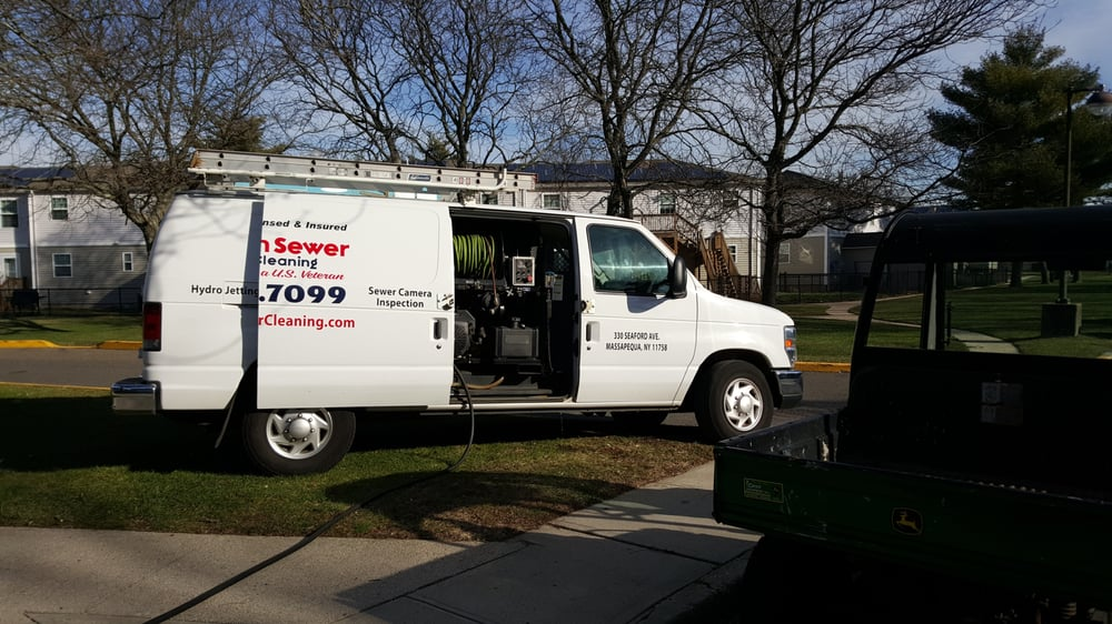 Sewer Jetting Service At Navy Housing In East Meadow New