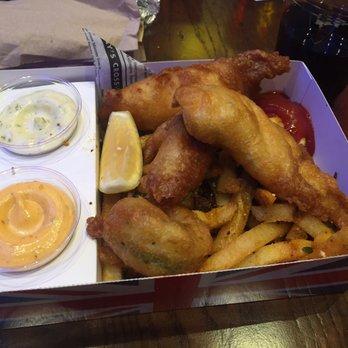 Gordon ramsay fish chips 197 photos 90 reviews for Gordon ramsay las vegas fish and chips