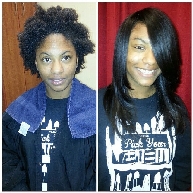 Before And After Full Sew In Weave Yelp