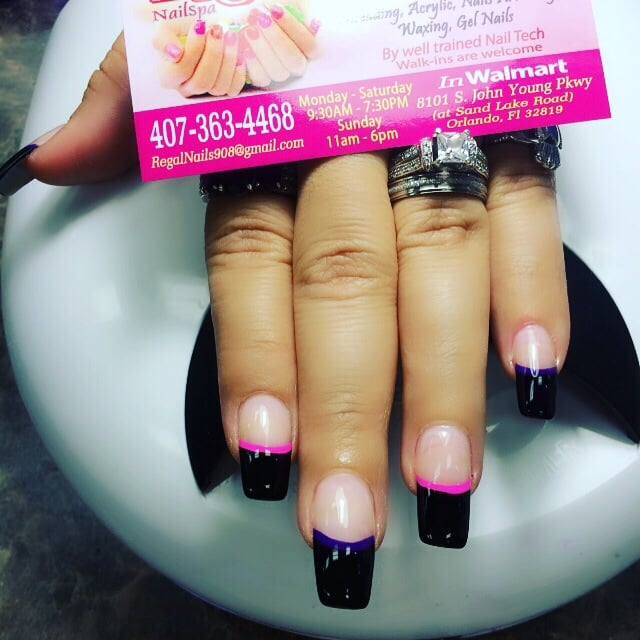 Regal Nails - Nail Salons - 8101 S John Young Pkwy, South Orange ...