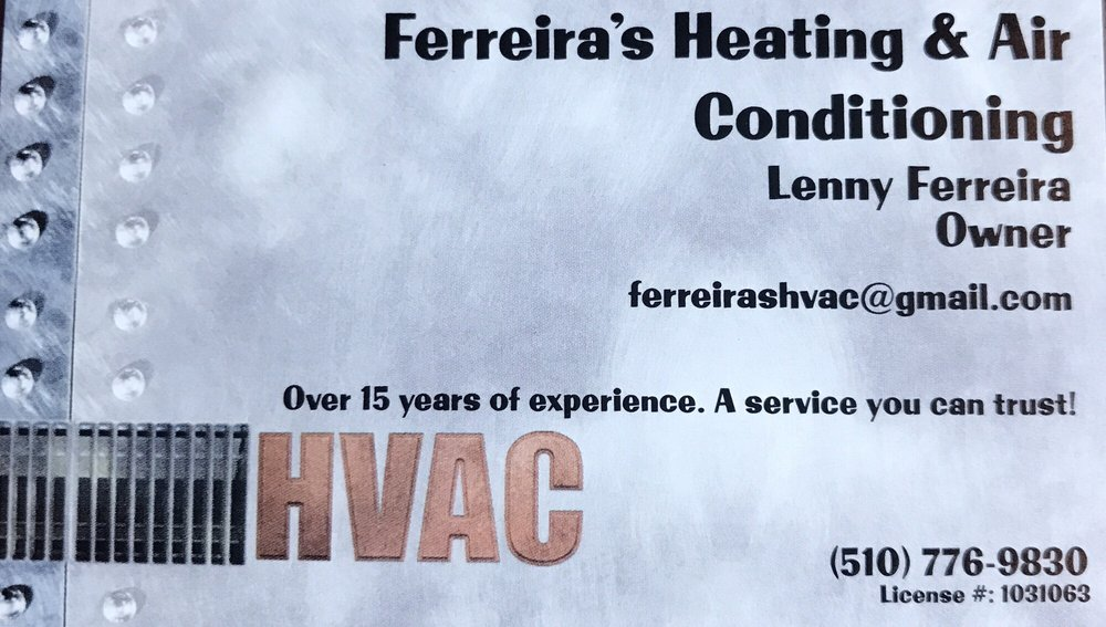 Ferreira's Heating and Air Conditioning: Oakley, CA