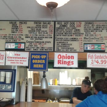 Hot Dog Heaven Amherst Menu