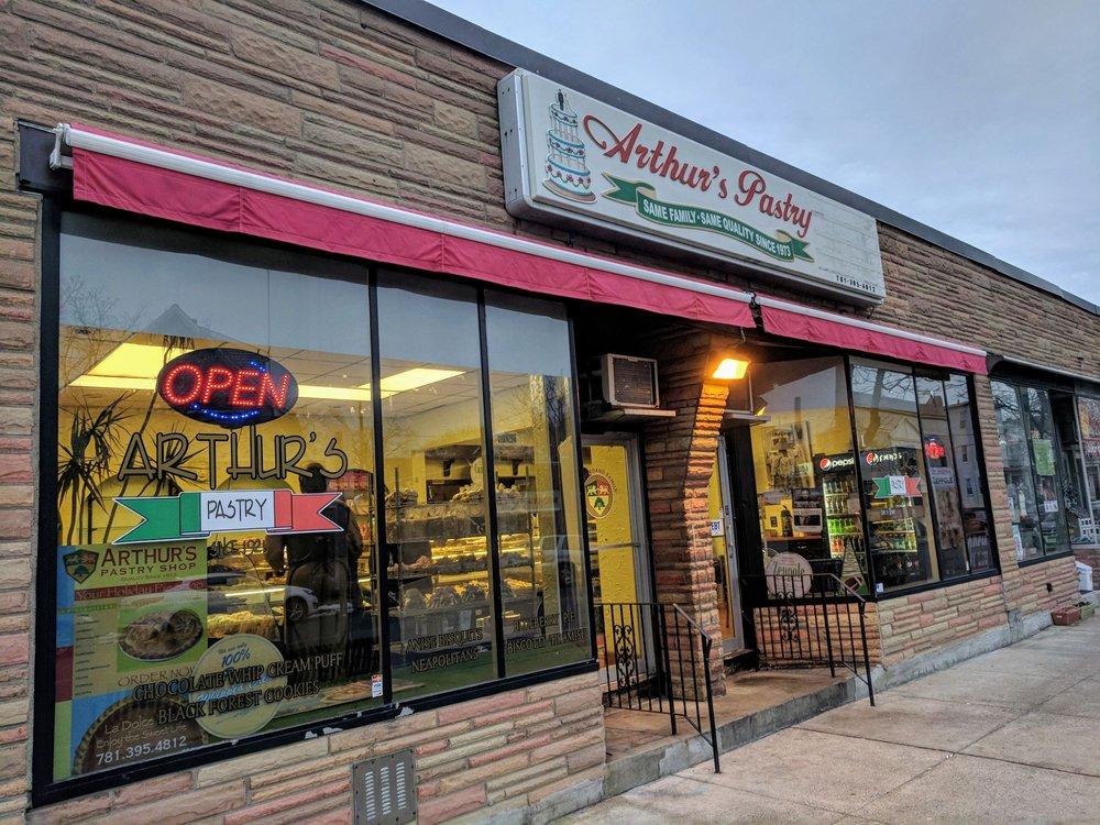 Arthur's Pastry Shop: 382 Main St, Medford, MA