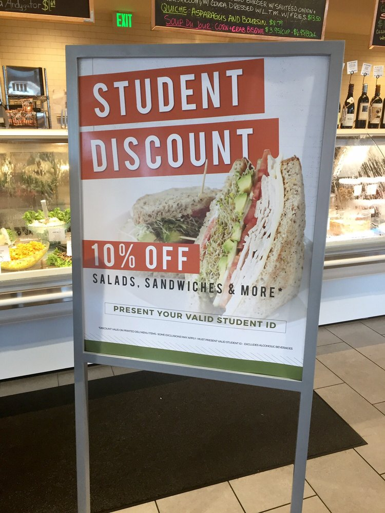 10% STUDENT DISCOUNT with student ID  Yelp