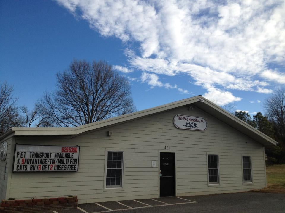 The Pet Hospital: 501 E Virginia Ave, Bessemer City, NC