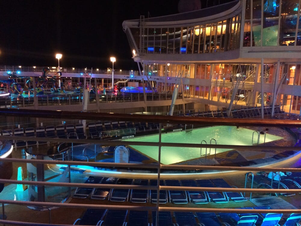 Deck 16 looking down onto deck 15 yelp - Allure of the seas fort lauderdale port address ...