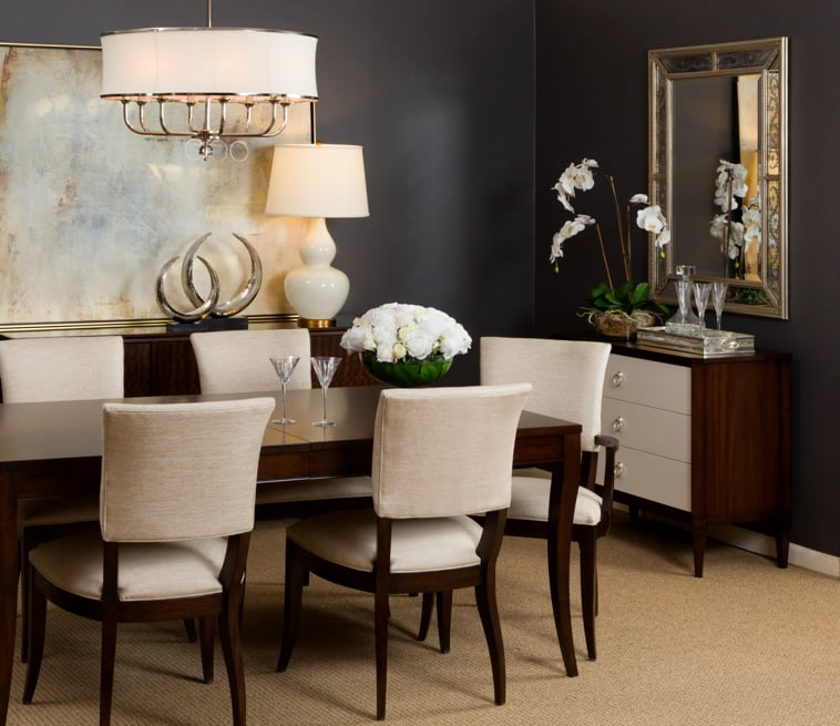 Barrymore Table, Drew Chairs, Heston Buffet - Yelp