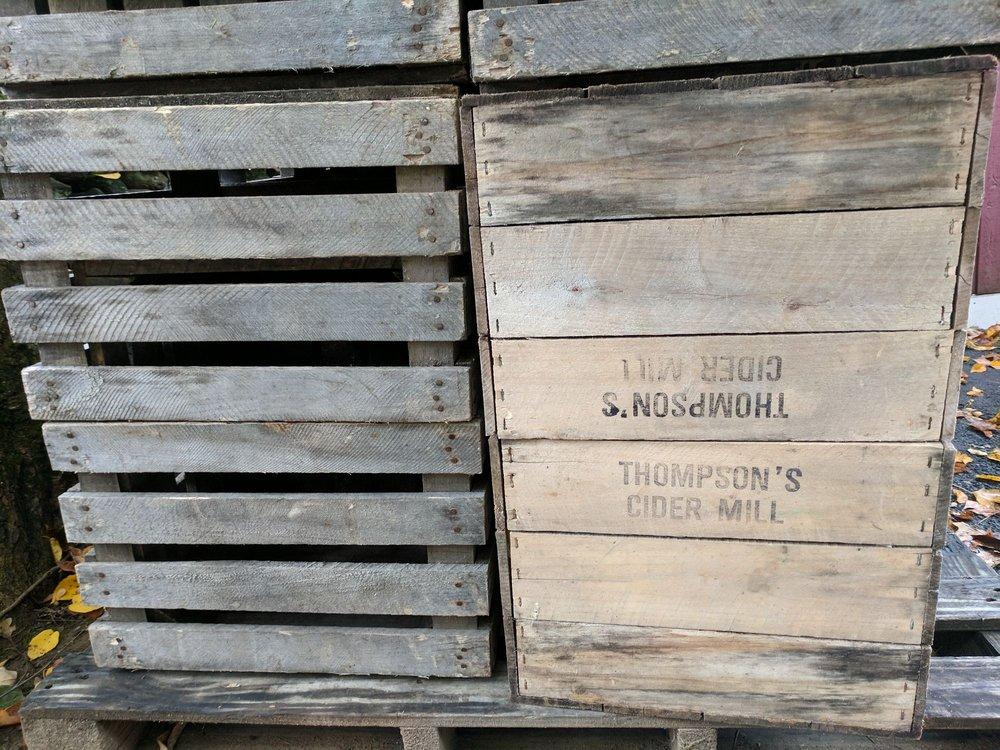 Thompson's Cider Mill: 335 Blinn Rd, Croton-on-Hudson, NY