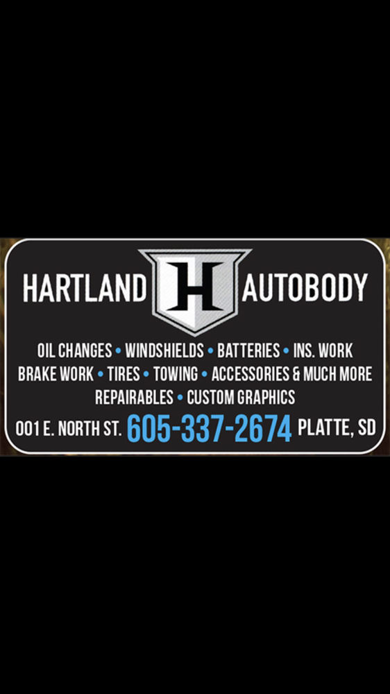 Hartland Autobody: 001 E North St, Platte, SD