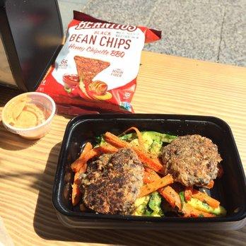 photo of snap kitchen philadelphia pa united states black bean burger sliders - Snap Kitchen