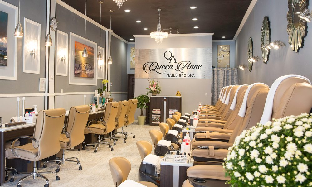 Admirable Queen Anne Nails Spa 63 Photos 139 Reviews Nail Home Interior And Landscaping Ologienasavecom