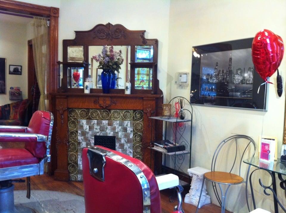 Shear Madness Salon: 13 Railroad Pl, Hopewell, NJ