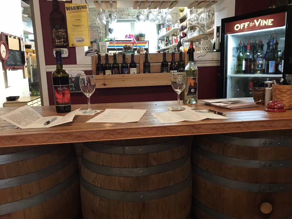 Off The Vine Winery: 121 E Washington St, Momence, IL