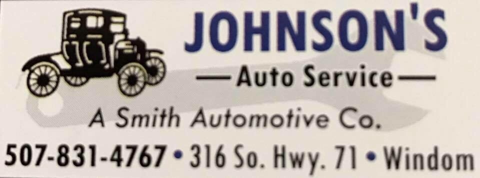 Johnson Auto Service: 316 S Hwy 71, Windom, MN