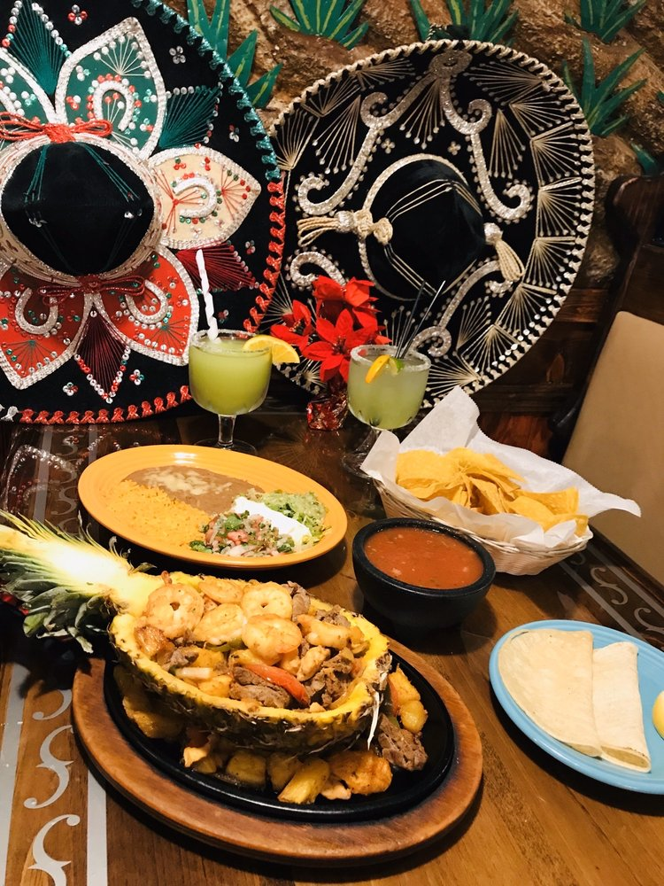 Food from La Fiesta Mexican Bar & Grill