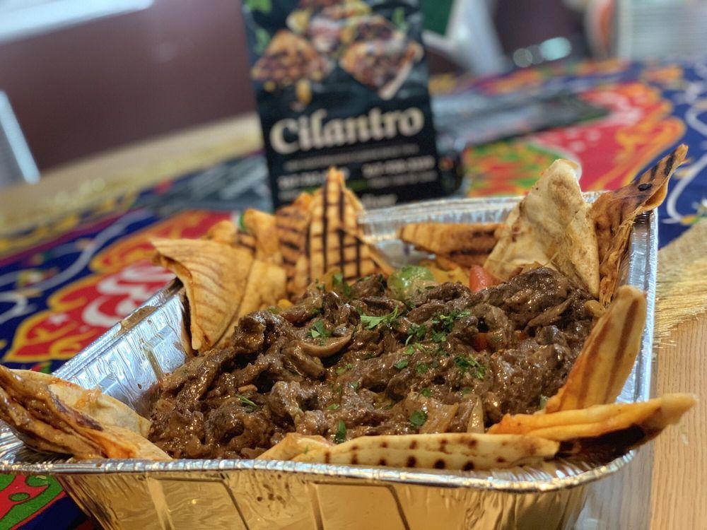 Food from Cilantro New Mediterranean Cuisine