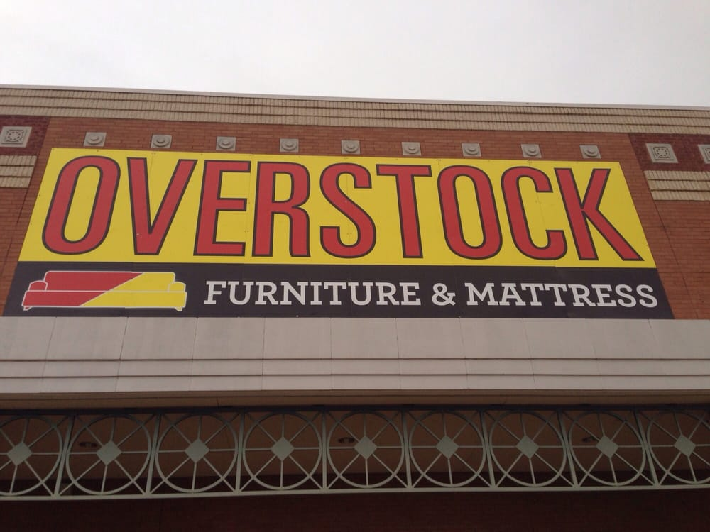 Overstock furniture mattress cerrado tienda de for Overstock furniture and mattress plano